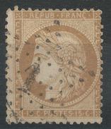 Lot N°34721   N°59, Oblit étoile Chiffrée 1 De PARIS (Pl De La Bourse) - 1871-1875 Cérès