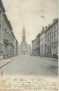 LEDEBERG : Rue Eggermont Au Fond Eglise Saint Liévin - Cachet De La Poste 1908 - Gent