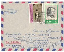 AZ63      Peru Air Mail Cover Sent To Italy 1971 - Perù