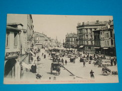 """31 ) Toulouse N° 115 - Place Arnaud-bernard Et Avenue De Paris  """" Le Marché """" - 1918 - EDIT - Labouche - Toulouse"""