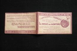 Jeanne D'arc  Carnet Vide Publicité Montre Petolat Anguenot Besancon Reims école Peinture - Carnets