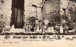 ORANGE   THEATRE ROMAIN CITHARIS  2 EME ACTE  AGE D OR - Orange
