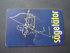ROMANIA USED CARDS ZODIAC - Zodiaco