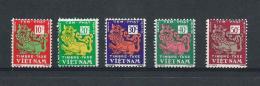 SOUTH VIETNAM) 1952 - Taxes Timbre Serietta 5val MNH** - Vietnam