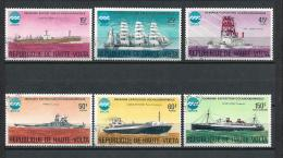 BURKINA FASO 1975) HAUTE VOLTA EXPO 75 Okinawa Serie Cpl 6val Used - Burkina Faso (1984-...)