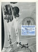 18374 Belgium,  Maximum 1960 Parachuting  Parachutisme, Fallschirmspringen