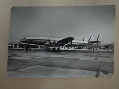 CPA PHOTO AVION LOCKHEED SUPER CONSTELLATION 13 MARSEILLE MARIGNANE - 1939-1945: 2a Guerra
