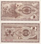 MACEDONIA. 50 Denar  P3  1992  UNC. - Macedonia