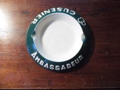 Cendrier -  Ashtray  - Ambassadeur - Cusenier  - Longchamp  France - Cendriers