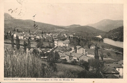 RETOURNAC - Retournaguet Et L'ile Du Moulin Pic - Retournac