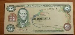 1989 - Jamaique - Jamaica - TWO DOLLARS, Paul Bogle, 1.7.89, EB012114 - Jamaique