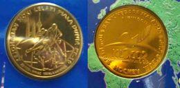 Malaysia Nordic Gold Coin BU 2002 1 Ringgit  10th Men's Field Hockey World Cup - Malaysia