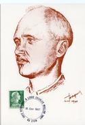 """1987 - Carte Commémorative """"HOMMAGE A LOUIS CHARLES MULLER 1902-1957""""  Lyon - Tp 1011A - Marcophilie (Lettres)"""