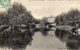 L ISLE SUR SORGUE 43  MOULIN NEUF  ENTREE DE LA SORGUE - L'Isle Sur Sorgue