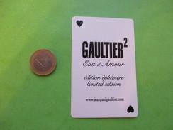 GAULTIER  - Carte Parfumée - Perfume Cards