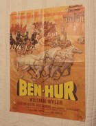 Affiches. Affiches De Cinéma. Ben-Hur Avec Charlton Heston (Réalisation William Wyler) - Plakate