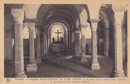 Nivelles, Collégiale Sainte Gertrude, La Crypte Romane (pk33640) - Nivelles