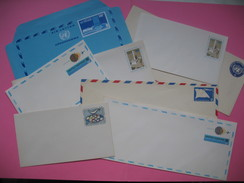 Lot De  8 Enveloppes  Diverses United Nations / Nations Unies  (à Voir) - Unclassified