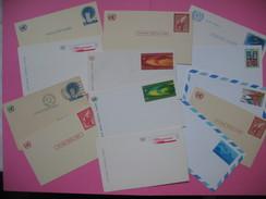 Lot De 13 Cartes Diverses  United Nations  Air Mail  / Nations Unies  (à Voir) - Unclassified