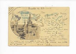 Bruxelles - L'Exposition De 1897 - Palais Ville (écrit 1901) - Weltausstellungen
