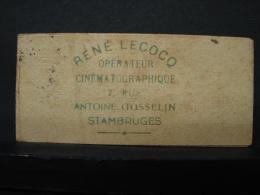 LetDoc. 96. Bandelette De Journaux  De 1941 Envoyée Par René LECOCQ, Opérateur Cinématographique à Stambruges - Cartas