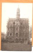 Oudenaarde - Fotokaart - Carte Photo- 1918 Stadhuis - Weltkrieg 1914-18