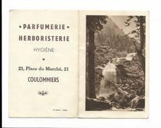Calendrier De Poche 1948 - Coulommiers Parfumerie Herboristerie - Calendars