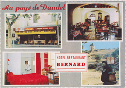 Bouches Du Rhone,13,PRES ARLES,FONTVIEILLE,MASSIF DES ALPILLES,CRAU,HOTEL RESTAURANT,BERNARD - Arles