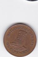 1 PENNY - 1985 - BALLKEWIK De JERSEY - 1 Penny & 1 New Penny