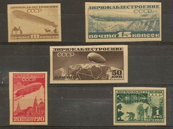 RUSSIA & URSS 1931, Zeppelin  Imperforated