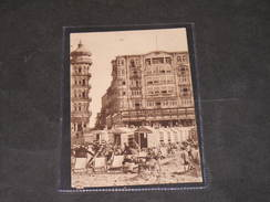 BLANKENBERGHE - HOTEL PETIT ROUGE CAFE RESTAURANT - Publicité Au Dos. - Blankenberge