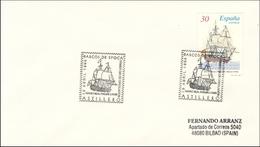 1996 Astillero. Sobre Conmemorativo. Barcos De Época. Navío Real Felipe. Barco - Ship - Barcos