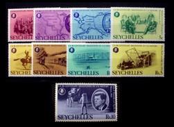 SEYCHELLES # 370-378. American Bicentennial. MNH (**) - Seychelles (1976-...)