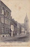 Tubize, La Poste Et La Rue De Bruxelles (pk33666) - Tubeke