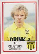 Panini Football 86 Voetbal Belgie Belgique 1986 Sticker Autocollant Thor Waterschei Nr. 328 Leo Lei Clijsters - Sports