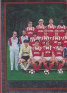 Panini Football 86 Voetbal Belgie Belgique 1986 Sticker CL Standard Club De Liège Luik Nr. 303 Equipe Ploegfoto - Sports