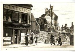 77  MELUN JUIN 1940 GRANDE RUE SAINT ETIENNE  -  LES RUINES  -  GUERRE 1939 / 45 - Melun