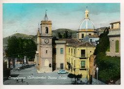 CAMPOFRANCO (CL) CHIESA MADRE E PIAZZA FRANCESCO CRISPI - Caltanissetta