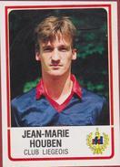 Panini Football 86 Voetbal Belgie Belgique 1986 Sticker Royal FC Liégeois Club Luik Liege Nr. 188 Jean-Marie Houben - Sports