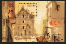 MACAO : BF 42 MNH** Dipinti Della Città Emissione Del 1997