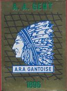 Panini Football 86 Voetbal Belgie Belgique 1986 Sticker AA KAA Gent La Gantoise Nr. 134 LOGO De Buffalo's - Sports