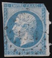 FRANCE - Scott #15-5 Emperor Napoleon III / Used Imperf. Stamp - 1853-1860 Napoleon III