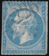FRANCE - Scott #26 Emperor Napoleon III (2) / Used Stamp - 1853-1860 Napoleon III