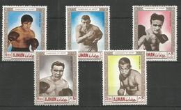AJMAN - MNH - Sport - Boxing - Champions Of Sport