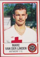 Panini Football Voetbal 86 1986 FC Royal Antwerp RAFC Club Autocollant Sticker Nr. 30 Marc Van Der Linden - Sports