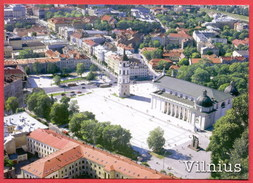 (432) Lithuania Vilnius Written Postcard 2 Scans