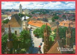 (434) Lithuania Vilnius Written Postcard 2 Scans