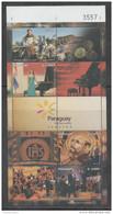 PARAGUAY, 2016, MNH, TOURISM AMBASSADORS, MUSIC,PIANOS, MOTORBIKES, SHEETLET - Music