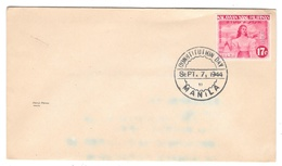 Japanese Occupied Philippines Manila Constitution Day Sc N31a Imperf Sept 7 1944 - Philippines
