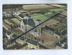CPM -En Avion Au Dessus De ...Sainte Luce   - L'Eglise Et La Place - Otros Municipios
